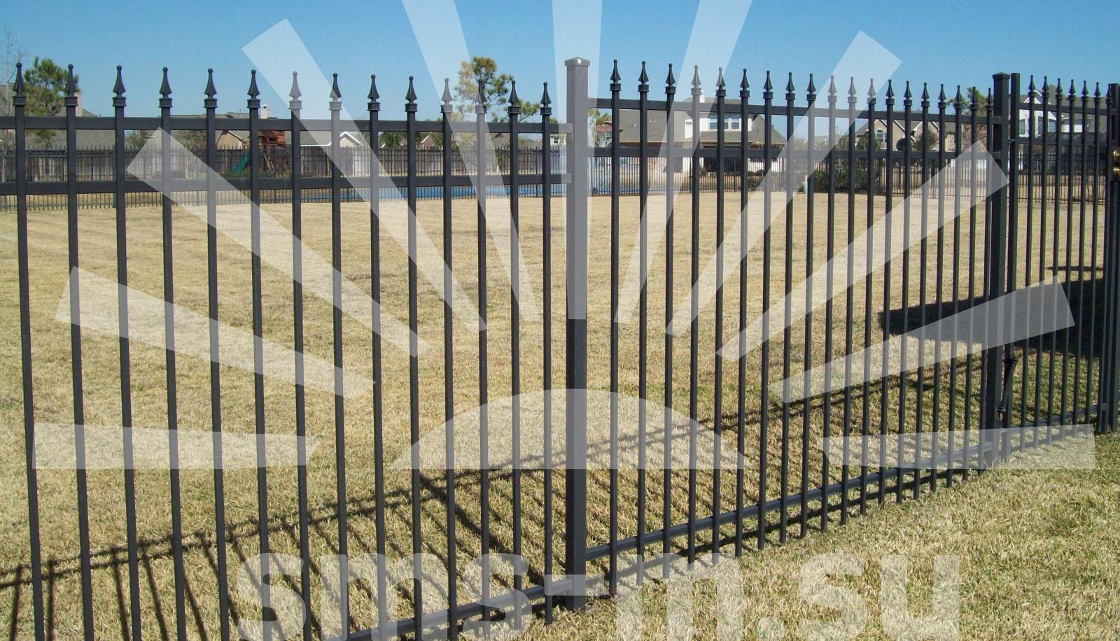 Как сделать забор с пиками 841