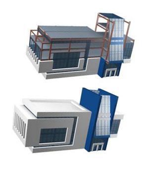 каркас модульного здания